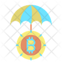 Protect Bitcoin Insurance Insurance Icon