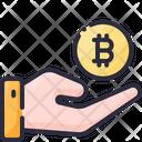Bitcoin Invest Icon