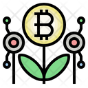 Bitcoin Investment Invester Bitcoin Growth Icon