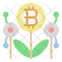 Bitcoin Investment Invester Bitcoin Icon