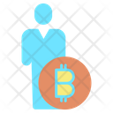 Business Bitcoin Cryptocurrency Bitcoin Investor Broker Icon