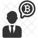 Cryptocurrency Investor Bitcoin Icon