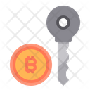 Key Money Bitcoin Cryptocurrency Bitcoin Key Secure Bitcoin Icon