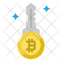 Key Word Bitcoin Icon