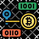 Private Key Bitcoin Icon