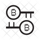 Bitcoin Key Security Icon