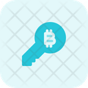 Bitcoin Key Icon