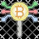 Bitcoin Key Password Bitcoin Icon