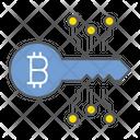 Bitcoin Key Icon