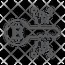 Bitcoin Key Bitcoin Security Bitcoin Icon