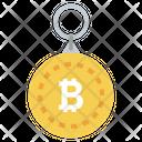Bitcoin Keychain Bitcoin Keyring Btc Keychain Icon