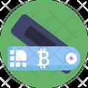 Bitcoin Label Icon
