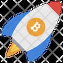 Bitcoin Launching Icon