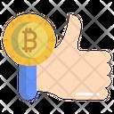 Bitcoin Like Icon