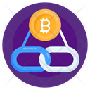 Chainlink Bitcoin Link Bitcoin Connection Icon
