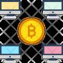 Bitcoin Live Transaction Icon