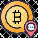 Account Address Bitcoin Icon