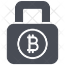 Bitcoin Lock Icon