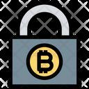 Bitcoin Lock Safe Cryptocurrency Bitcoin Icon