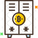 Locker Bitcoin Locker Bitcoin Safe Icon
