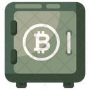Bitcoin Savings Bitcoin Locker Bitcoin Security Icon