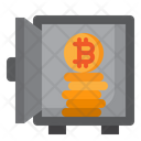 Bitcoin Locker Icon
