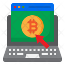 Bitcoin Login Icon