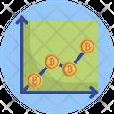 Bitcoin Graph Analytics Icon