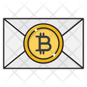 Bitcoin Message Pay Icon