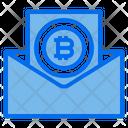 Mail Bitcoin Icon