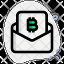 Bitcoin Mail Icon