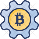 Bitcoin Management Gear Icon