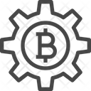 Bitcoin Management Bitcoin Setting Bitcoin Icon