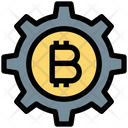 Bitcoin Management Bitcoin Gear Icon