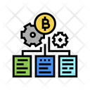 Block Chain Management Block Chain Icon