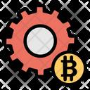 Bitcoin Management Icon