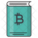 Book Bitcoin Crypto Icon