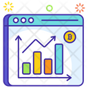 Bitcoin Market Bitcoin Website Bitcoin Stock Market Icon