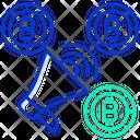 Bitcoin Marketing Icon