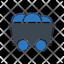 Mine Bitcoin Crypto Icon