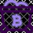 Bitcoin Minecart Icon
