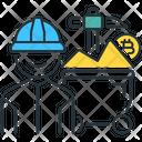 Bitcoin Miner Miner Mining Icon
