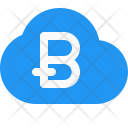 Bitcoin Cloud Mining Icon
