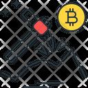 Bitcoin Mining Mining Bitcoin Icon