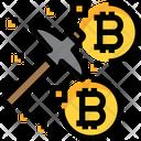 Bitcoin Mining Bitcoin Mine Icon