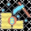 Mining Bitcoin Mining Bitcoin Icon