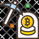 Coin Mining Bitcoin Mining Mining Icon