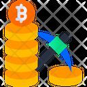 Mining Coins Bitcoin Mining Mining Icon