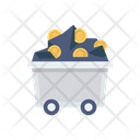 Coal Mine Bitcoin Icon