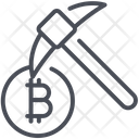 Bitcoin Digital Mining Icon